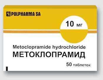 Прокинетики: виды и список препаратов
