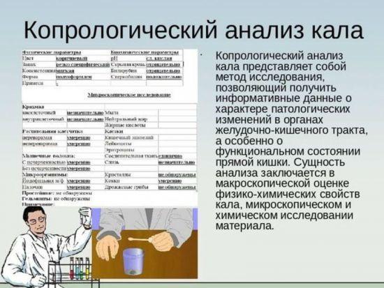 Копрограмма (общий анализ кала): подготовка, проведение и расшифровка исследования