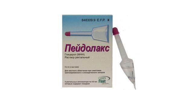Микроклизмы от запора: список препаратов и их применение