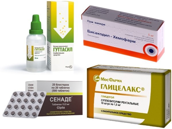 Осмотические слабительные средства при запорах: список и использование препаратов