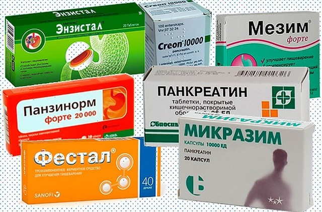 Ферменты для пищеварения: виды и список препаратов